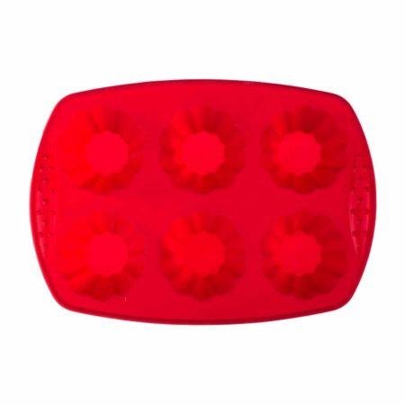 Форма для выпечки AGNESS 28×20 см 6 кексов
