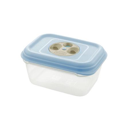 Контейнер FRESH WAVE прямоугольный 1,4 л голубой