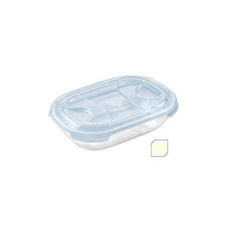 Контейнер TONTARELLI NUVOLA прямоугольный плоский 0,5 л кремовый