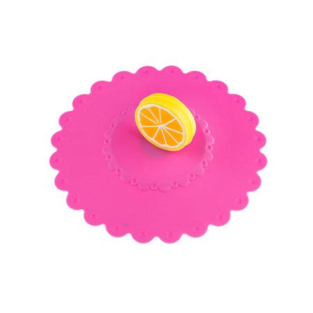 Крышка для кружки AGNESS ЛИМОН 10,5 см