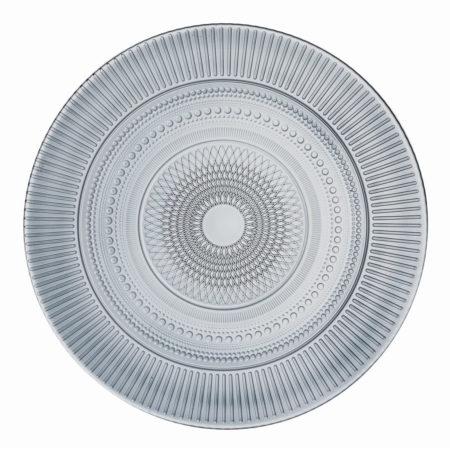Тарелка обеденная LOUISON GRAPHITE 25 см