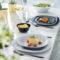 Тарелка десертная CARINE GRANIT 21 см [N6613]