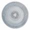 Тарелка обеденная LOUISON GRAPHITE 27 см [N5705]