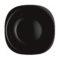 Тарелка суповая CARINE BLACK 21x21 см [L9818]