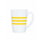 Кружка HARENA 320 мл желтый [N2602]