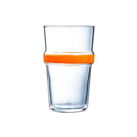 Стакан CADENCE 320 мл оранжевый