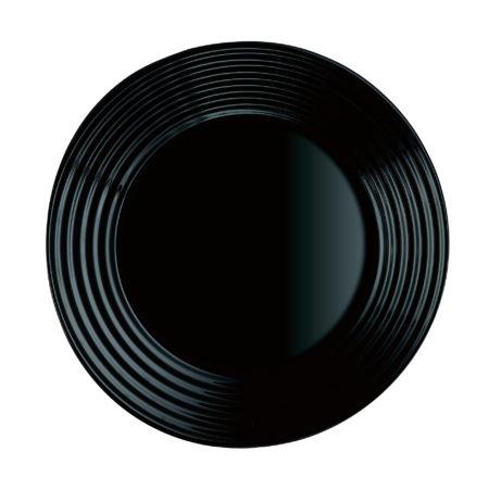 Тарелка десертная HARENA BLACK 19 см