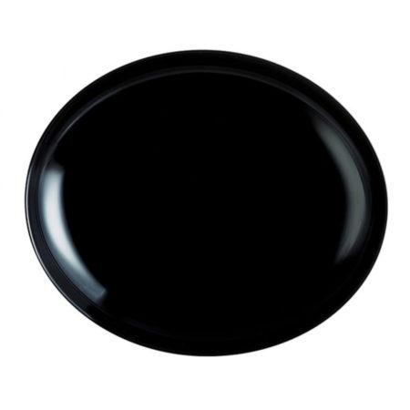 Тарелка FRIENDS TIME BLACK для стейка
