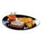 Тарелка FRIENDS TIME BLACK для стейка [N2177]