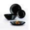 Тарелка суповая HARENA BLACK 19 см [L7610]