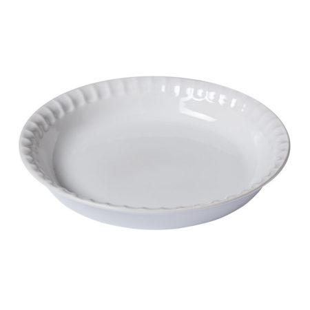 Форма для запекания SUPREME WHITE 25 см круглая с фигурным краем
