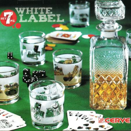 Набор WHITE LABEL графин+6 стаканов