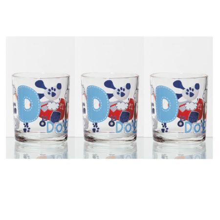 Набор стаканов TRAVELLING AIR DOG 220 мл 3 шт