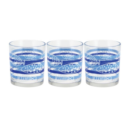 Набор стаканов ACQUARIO 220 мл 3 шт