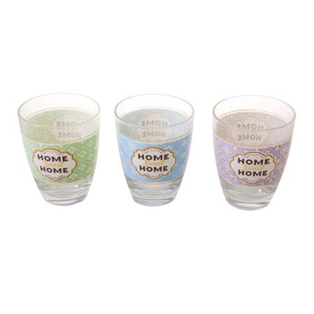 Набор стаканов BOUTIQUE 220 мл 3 шт