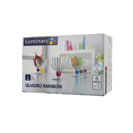 Набор креманок QUADRO ICE 6 шт