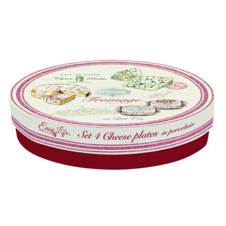 Набор тарелок FROMAGE 19 см 4 шт