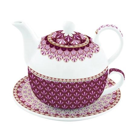 Набор чайный ATMOSPHERE бордовый