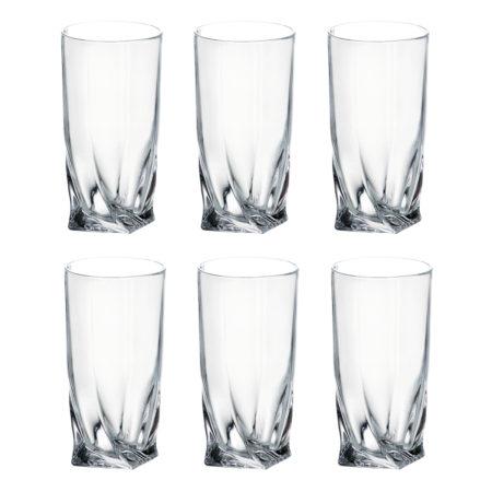 Набор стаканов QUADRO 350 мл 6 шт