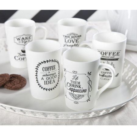 Кружка WHITE COFFEE 340 мл