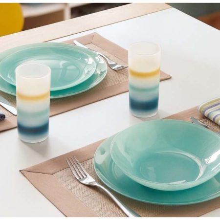 Тарелка десертная ARTY 20,5 см голубой