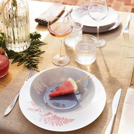 Тарелка суповая ARTY 20 см серый