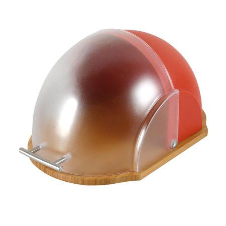 Хлебница VADER 39x26x20 см красная