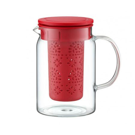Чайник заварочный SUBTELE 0,8 л красный