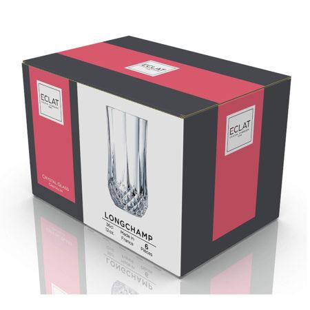 Набор стаканов LONGCHAMP ECLAT 360 мл 6 шт