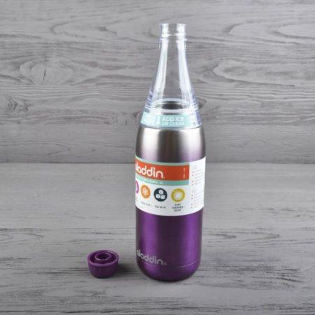 Бутылка вакуумная ALADDIN FRESCO TWIST & GO 0,6 л фиолетовая
