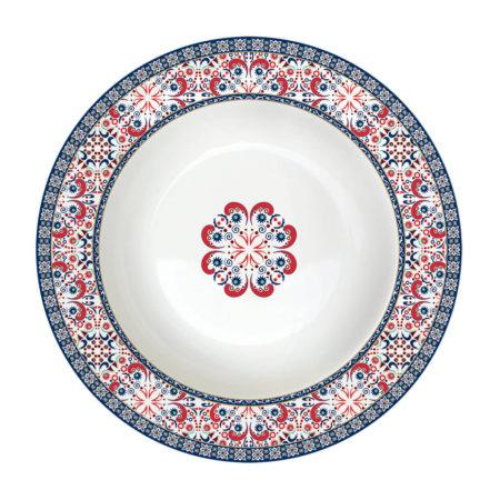 Тарелка суповая ALHAMBRA 21,5 см