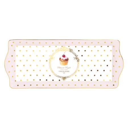 Блюдо DOTS&CUPCAKES 35×15 см