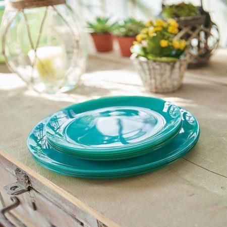 Тарелка десертная ARTY 20,5 см бирюзовый