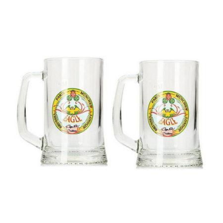 Набор кружек для пива Дрезден 500 мл 2 шт