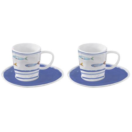 Набор кофейный BORD DE MER 2 пары