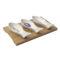 Набор салатников BORD DE MER 3 шт на подставке 24×13 см