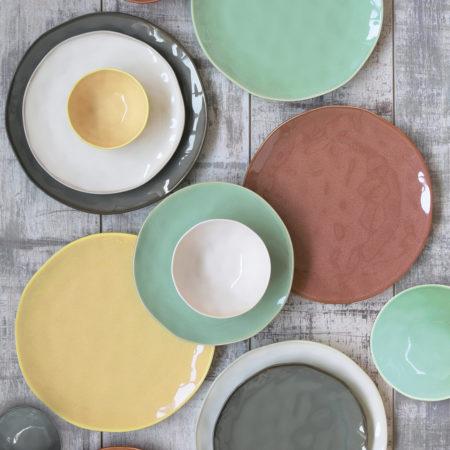 Тарелка десертная INTERIORS YELLOW 21 см
