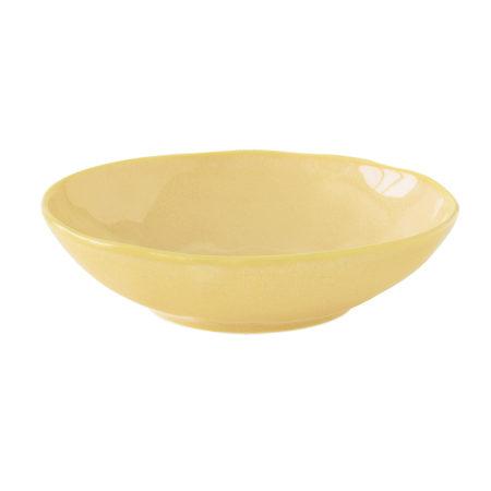 Тарелка суповая INTERIORS YELLOW 19 см