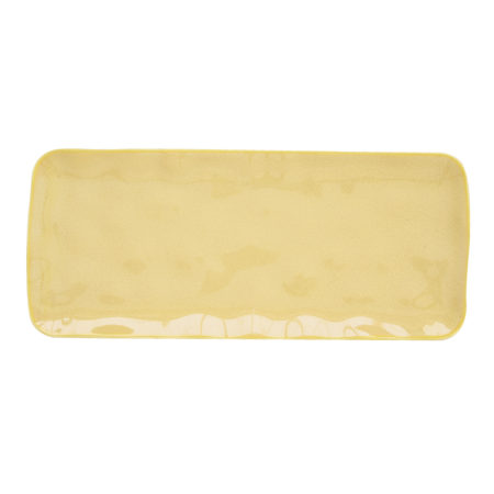 Блюдо INTERIORS YELLOW 36×16 см