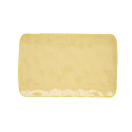 Блюдо INTERIORS YELLOW 20×13 см
