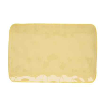 Блюдо INTERIORS YELLOW 27×19 см