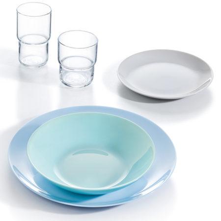 Тарелка обеденная DIWALI LIGHT BLUE 27 см