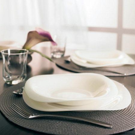 Тарелка десертная VOLARE WHITE 22,5 см