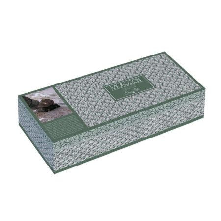 Набор кружек MONSOON GREEN 2 шт с подносом и подставками