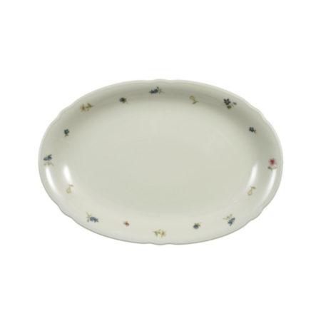Блюдо овальное MARIELUISE ELFENBEIN BLUMENZAUBER 31×21 см