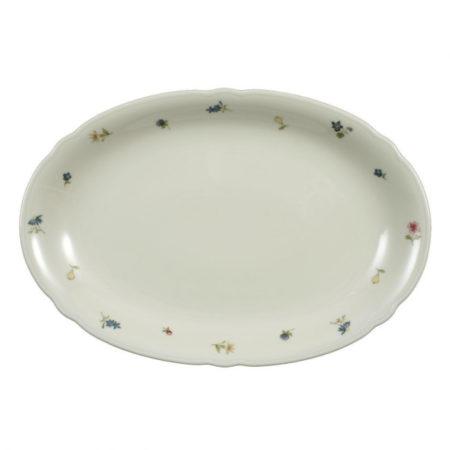 Блюдо овальное MARIELUISE ELFENBEIN BLUMENZAUBER 34×26 см