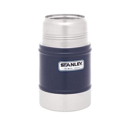 Термос STANLEY 0,5 л с широким горлом для еды синий