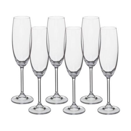 Набор фужеров COLIBRI 220 мл 6 шт шампанское