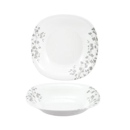 Тарелка суповая OMBRELLE WHITE 21 см