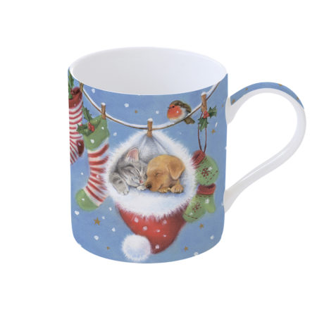 Кружка WITH LOVE AT CRISTMAS PUPPIES 350 мл